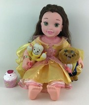 "Disney My First Princess Belle 20"" Doll Singing Storytelling Lot Beauty ... - $44.50"