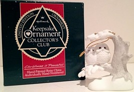 1989 Limited Edition Hallmark Collector's Club Keepsake Ornament: Christ... - $18.00