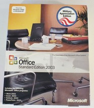 Microsoft Office 2003 Standard Edition - Retail Military Edition with Key - $15.88