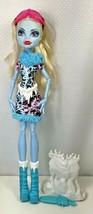Monster High Girl Doll Abbey Bominable Art Class Ice Sculpture Mattel To... - $25.73