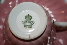 ANYSLEY Two Sets Cups and Saucers Pink and Blue Gold image 5