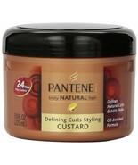 Pantene Pro-V Truly Natural Hair Defining Curls Styling Custard Oil Enri... - $11.33
