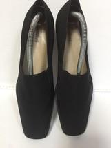 Pre Owned Women's Trotters Ash Black Micro Stretch Size 11.5M -EUC - $29.70