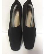 Pre Owned Women's Trotters Ash Black Micro Stretch Size 11.5M -EUC - $29.70