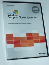Microsoft Windows Compute Cluster Server 2003 with Service Pack 1 Brand New - $129.99