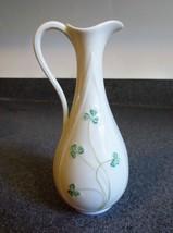 Vintage Belleek Shamrock Vase/Pitcher - $46.74