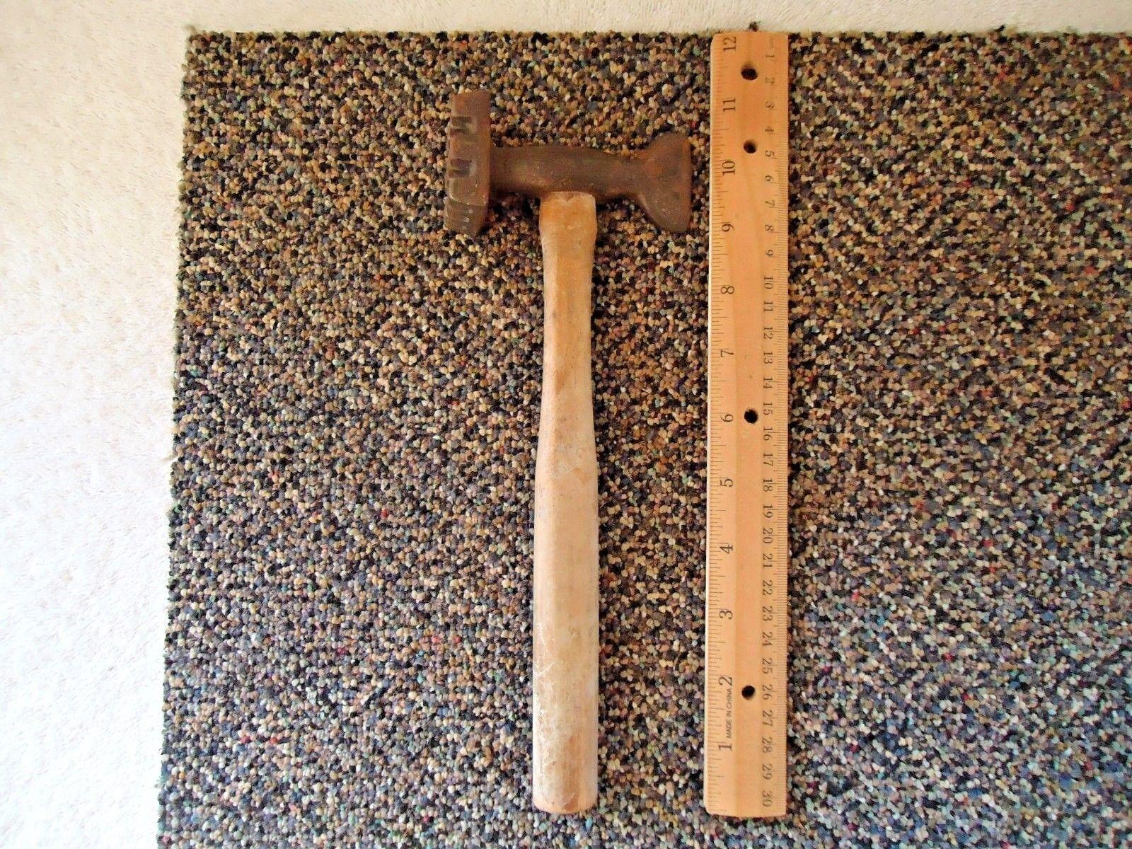 Vintage Wooden Handle Metal Meat Tenderizer And 50 Similar Items
