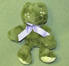 "Sweet Sprouts 11"" GREEN FROG Animal Adventure Plush Stuffed Animal FRECK... - $18.69"