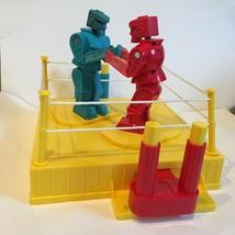 Rock em Sock em 2001 Vintage Mattel Two Player Red and Blue Robot Game - $29.69