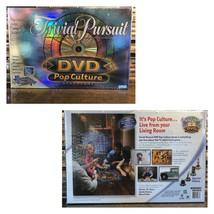 TRIVIAL PURSUIT DVD POP CULTURE BOARD GAME BRAND NEW - $22.27