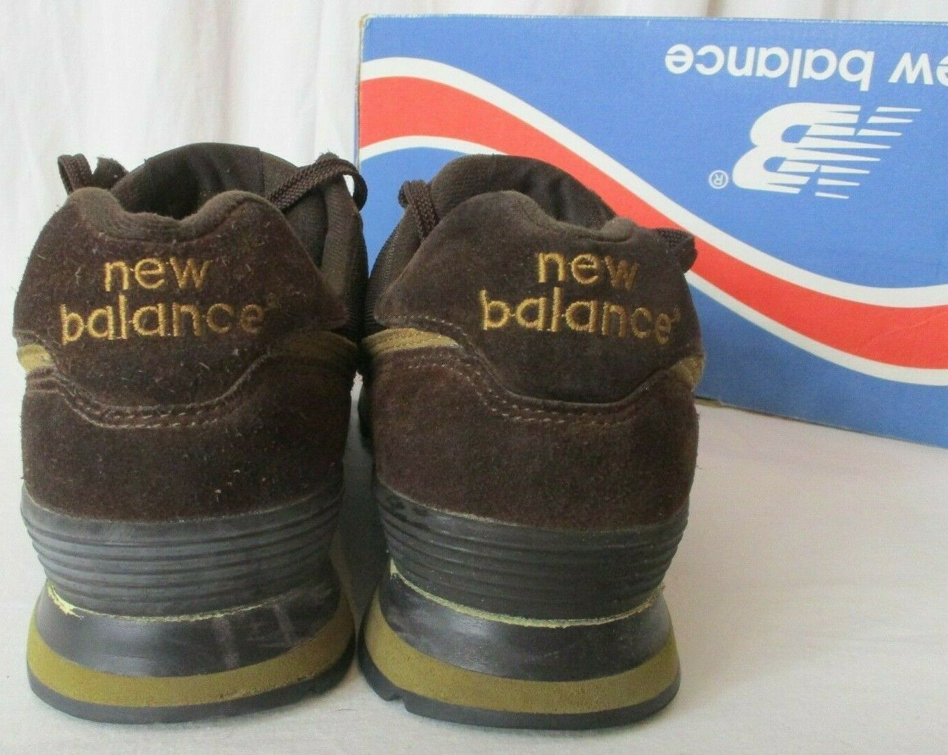 New Balance Men 10 M574BS Encap Sneakers Shoes Chocolate Brown image 5