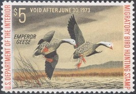 RW39, Mint Emperor Geese DUCK STAMP - VF OG NH - Stuart Katz - $14.00