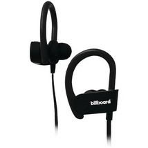 Billboard BB896 Bluetooth Earhook Earbuds with Microphone (Black) - $43.99