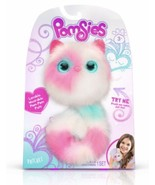 "Pomsies ""PATCHES"" Plush Interactive Toy, Pink, White & Mint POM POM WEAR... - $17.75"