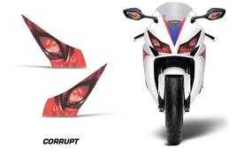 Headlight Eye Graphics Kit Decal Cover For Honda CBR 1000RR 2012-2014 CORRUPT R - $18.76