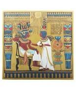 YTC Egyptian Hieroglyphical TUT Throne Scene Decorative Wall Plaque - $43.55
