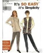 Simplicity 9700 Misses' Knit Separates - $1.75