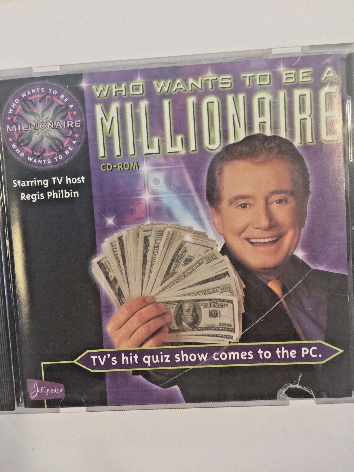 NEW original WHO WANTS TO BE MILLIONAIRE CD ROM game