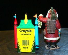 Hallmark Keepsake Ornaments Bright Shining Castle Crayola & Merry Olde Santa AA image 4