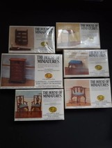 6 House Of Miniatures Doll House Furniture Sets 40037 40032 40008 40066 ... - $79.15