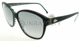 Lacoste Black Striped / Gray Sunglasses L619S 001 - $87.71