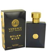 Pour Homme Dylan Blue by Versace Eau De Toilette  3.4 oz, Men - $54.18