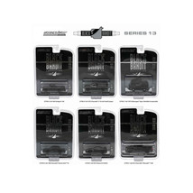Black Bandit Series 13, 6pc set 1/64 Diecast Model Cars by Greenlight 27790 - $46.47