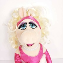 Disney Store Miss Piggy Plush Pink Dress The Muppets - $23.24