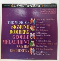 Sigmund Romberg George Melachrino Orchestra LSP-2106 Vtg 60s Record Albu... - $13.85