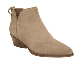 Women's Sarto by Franco Sarto Sloan Ankle Bootie Taupe Lux Brushed Suede - $202.55