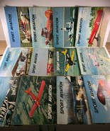 Vintage 12 issues SPORT AVIATION  Monthly Magazine 1967 Complete Year - $34.64