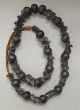 Strand Snake Shaman Necklace Vertebrae Bone and Seed Beads collectible S... - $130.89