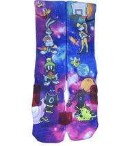 Custom Space Jammin Nike Elite Socks ALL Sizes FAST SHIPPING - $23.99