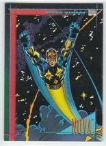 M) 1993 Marvel Comics Skybox Trading Card #19 Nova - $1.97