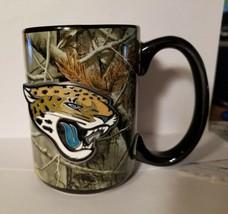 NFL Jacksonville Jaguars 15oz RealTree Camouflage Coffee Mug with Team Logo - $25.47