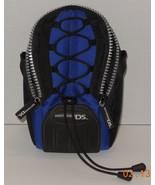 Nintendo DS Carrying Case Black Blue - $9.50