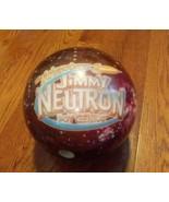 Nickelodeon Jimmy Neutron Bowling Ball Nick Toons Viz-A-Ball Promo Emplo... - $59.39