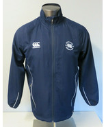 Mens Canterbury Navy Blue Hong Kong Football Club Full Zip Size M Vapo S... - $39.59
