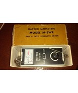 SWR & Field Strength Meter Mattco Marketing Model M-SWR Transmitter - $93.49