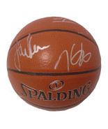 2017 Golden State Warriors Team Signed Basketball Steph Curry Kevin Dura... - £1,521.86 GBP