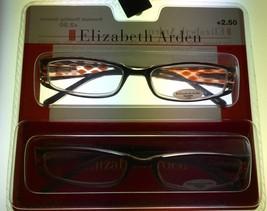Elizabeth Arden #3 2 Readers 2 Pack Rectangle Black/Brown Multi Plastic 1.5 - $17.99