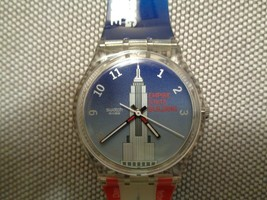 Swatch Empire State Building Originals 1999 Swiss Quartz Watch GK309 E153/TOPH - $68.31