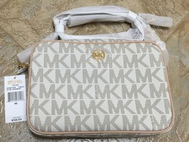 Michael Kors Women Fulton Messenger Crossbody Vanilla bag - $101.92