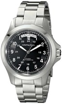 Hamilton Men's H64455133 Khaki King II Automatic Stainless Steel Watch - $568.97