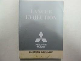 2012 Mitsubishi Lancer Evolution Electrical Supplement Manual FACTORY OEM - $24.73