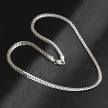 925 sterling silver necklace For Men, 50cm - $12.89
