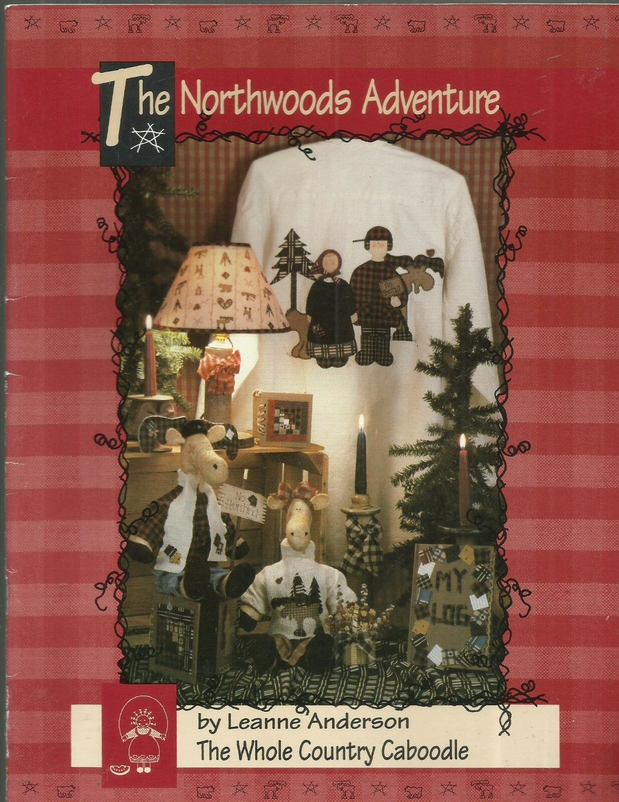 Primary image for The Northwoods Adventure-Moose Doll & Clothes-Applique Quilt