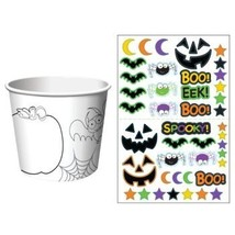 Halloween Kids Activity Treat Cups 6 Per Pack - $6.26