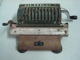 Antique Multical Machine Mechanical Calculator Art Deco made West Germany - $88.48