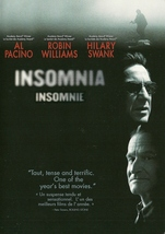 Insomnia DVD Al Pacino Robin Williams Hilary Swank Widescreen - $2.99